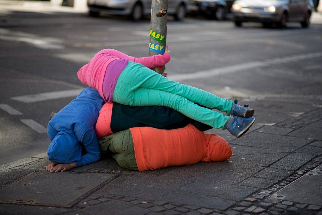 """Glückliche Stadtkinder ? - Projekt """"kids in urban spaces""""."""