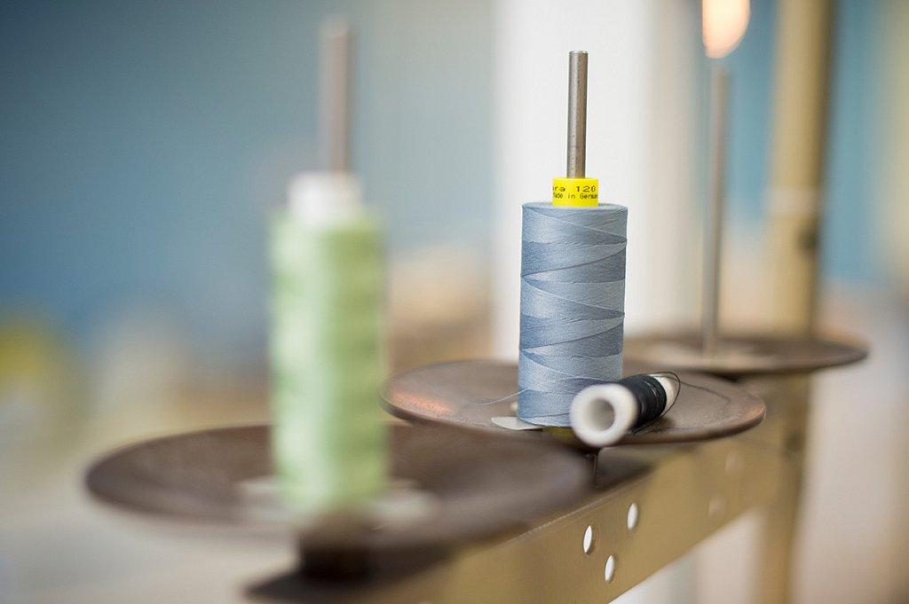 Impressionen aus der Schneiderwerkstatt Stitch by Stitch.