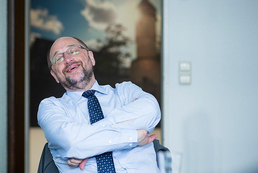 SPD Kanzlerkandidat Martin Schulz.