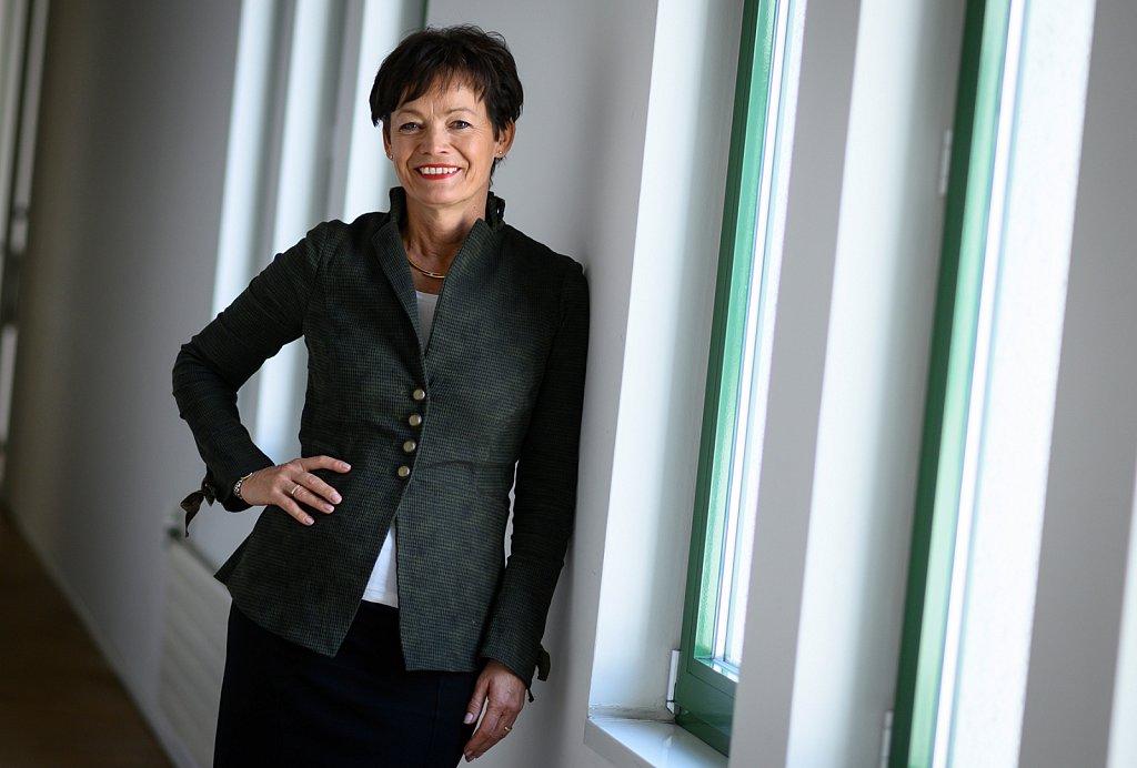 Die hessische Ministerin für Bundes- und Europaangelegenheiten Lucia Puttrich.